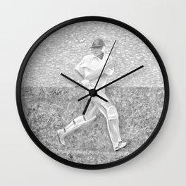 The Batsman II Wall Clock