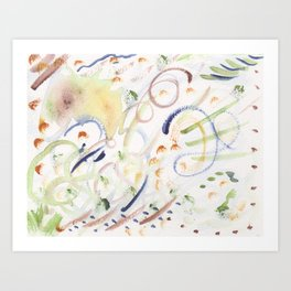 Colors of Colorado Abstract Art Print
