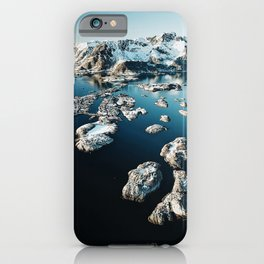 norway aerial view iPhone Case