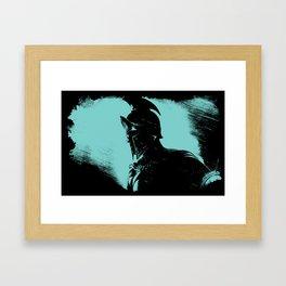 Once were Spartans Framed Art Print