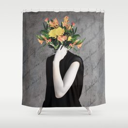 Letter to Josephine Shower Curtain