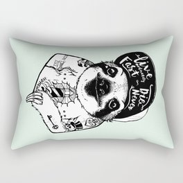 Sloth Tattooed Rectangular Pillow