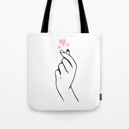 Love Valentine's Day Heart Cupid Partner Gift Tote Bag