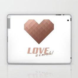 Rose Gold Heart Laptop & iPad Skin