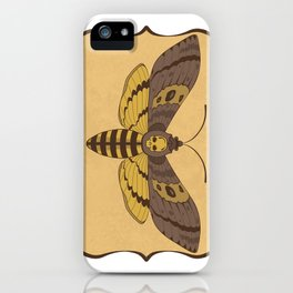 Death's Head Moth  iPhone Case