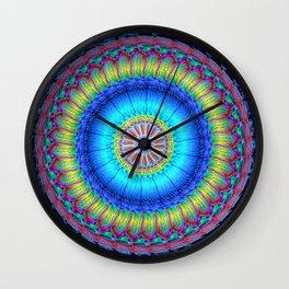 happy circle Wall Clock