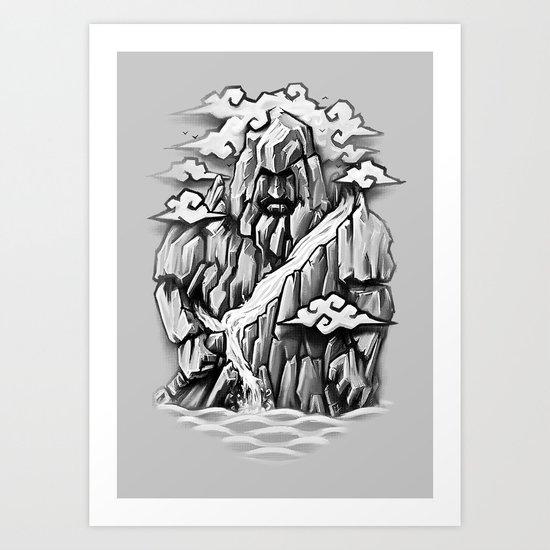 The Mountain Art Print