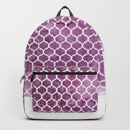 Rose Trellis Pattern Backpack