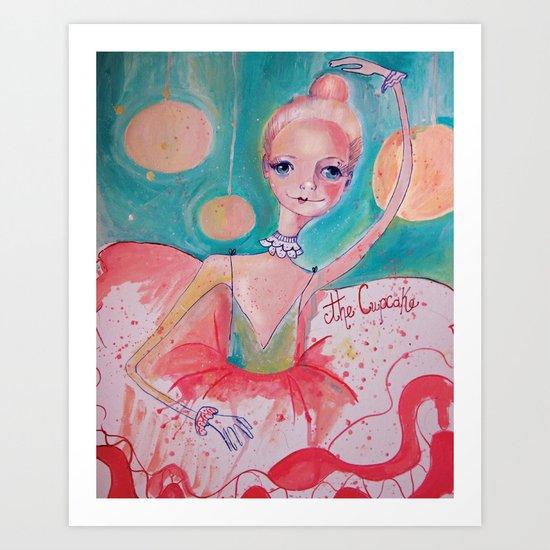 The Cupcake Art Print