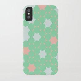 Teal Dot iPhone Case