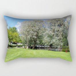 Summer Greens in Fiskars Rectangular Pillow