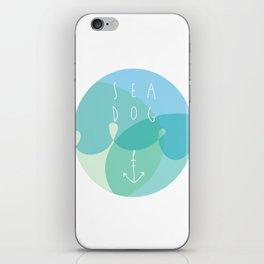 Sea Dog iPhone Skin