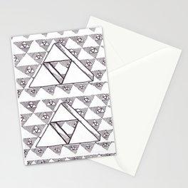 courage, wisdom, power. Stationery Cards