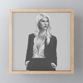 Felicia Hardy 1 Framed Mini Art Print