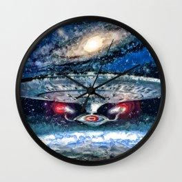 Star Trek Enterprise D Wall Clock