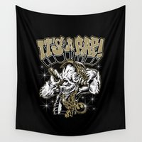 rap Wall Tapestries featuring Rebel Hip Hop It's A Rap!  by Nibiru Hybrid
