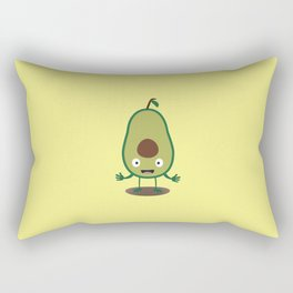 Avocado guacamole guy T-Shirt for all Ages D41j6 Rectangular Pillow