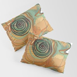 Tree Stump Series 3 - Illustration Pillow Sham
