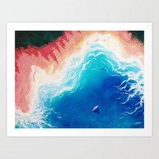I'll Sail You There Art Print