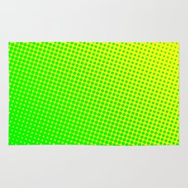 80's grade green Rug