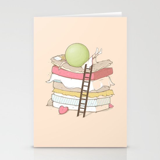 Can't sleep Stationery Cards