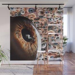 I always feel like somebody's watching me Wall Mural