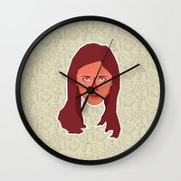 buffy Wall Clocks featuring Buffy Summers - Buffy the Vampire Slayer by Kuki