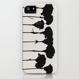 carnations 1 iPhone Case