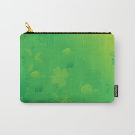 Glowing Shamrocks Carry-All Pouch
