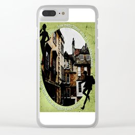 Jesper and Wylan - Every Time Clear iPhone Case