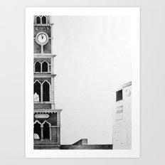 Frame, 2011, 50-70 cm, graphite crayon Art Print