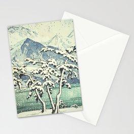 Seasonal Snow at Dara Stationery Cards