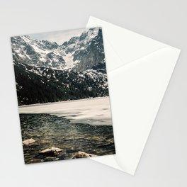 Morskie Oko In Snow Stationery Cards