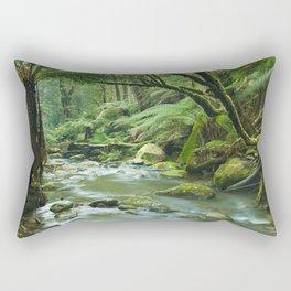 River through lush rainforest in Great Otway NP, Victoria, Australia Rectangular Pillow