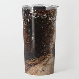 Autumn Backroad Travel Mug