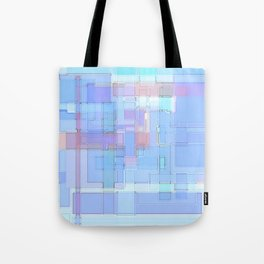 LightSquares Tote Bag