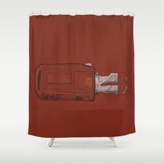 Rey's Speeder Shower Curtain