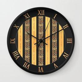 Viking gold Wall Clock
