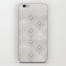 Heart Shape Pattern #society6 #decor #buyart iPhone Skin