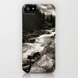 Landscape II, Icicle Creek, Leavenworth, Washington iPhone Case