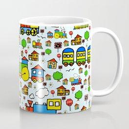Steam Trains Coffee Mug