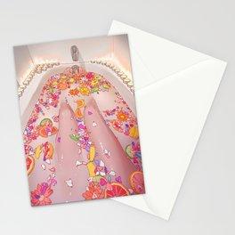 Flower Bath 7 Stationery Cards