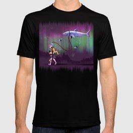 Aurora's Night Walk T-shirt