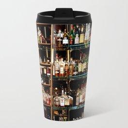 BOTTLES ALL IN A ROW Travel Mug