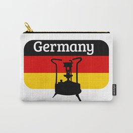 Pressure Stove with German Flag Carry-All Pouch