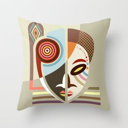 Afrocentric purple pillow Afrocentric decorative pillow Afrocentric throw pillow African American woman decorative pillow sofa pillow