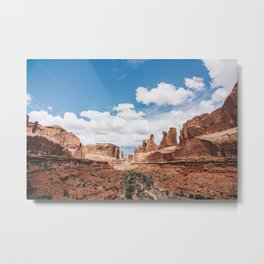 Park Avenue, Arches National Park Metal Print