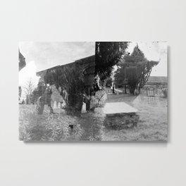 Haunted 3 Metal Print