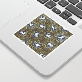 Unicorn pattern Sticker