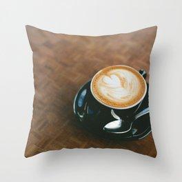 Macchiato  Throw Pillow